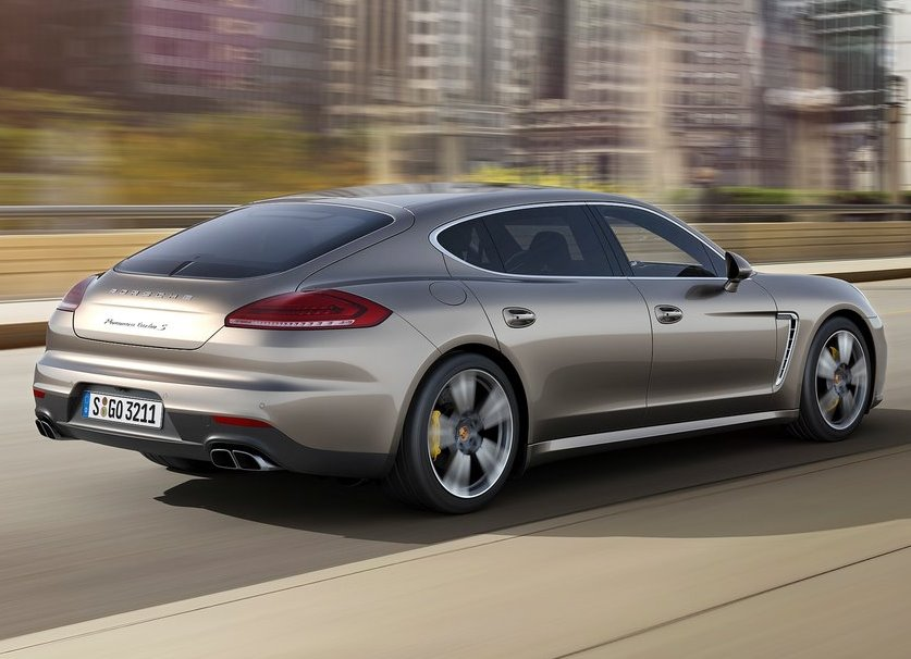фото Porsche Panamera Turbo S Executive 2014 сбоку