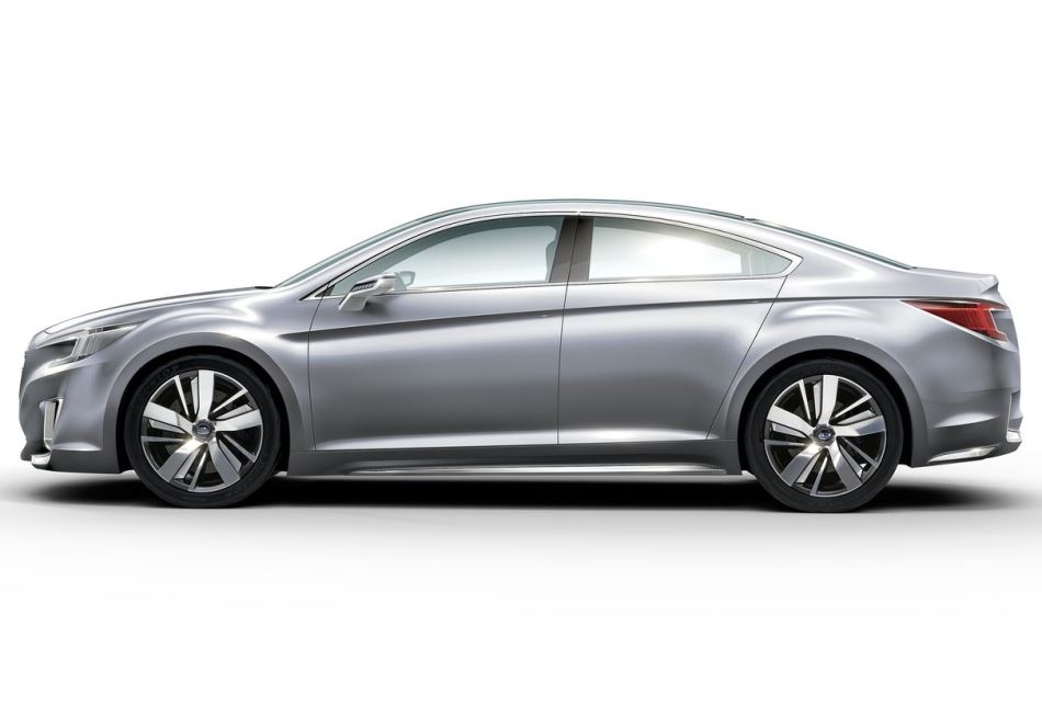 фото Subaru Legacy Concept 2014 сбоку