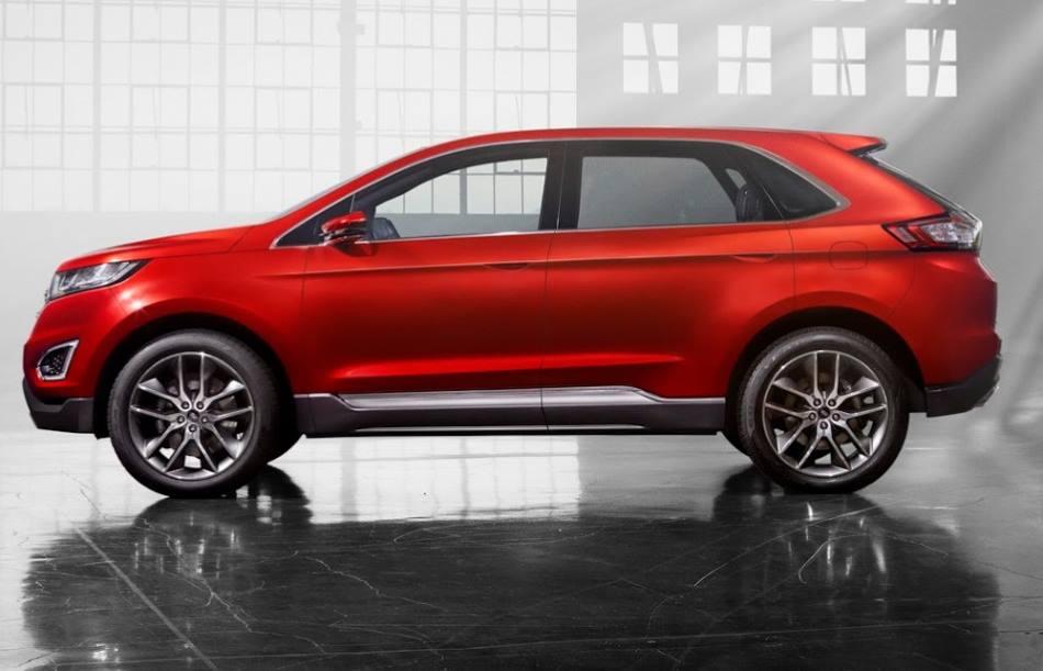 фото концепта Ford Edge 2015