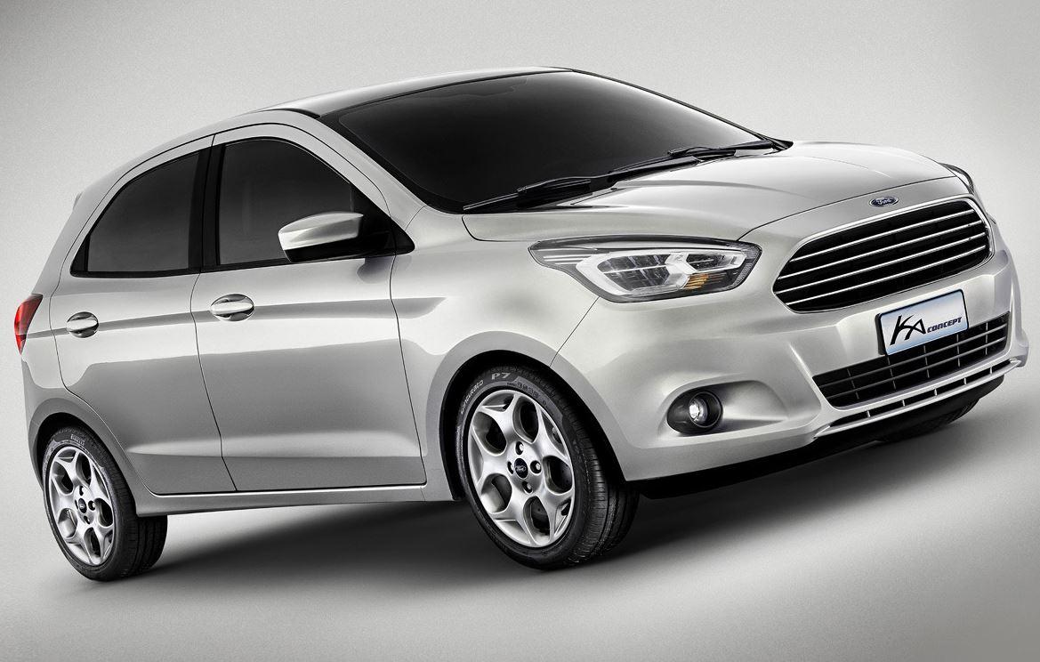 фото концепта Ford Ka 2013 сбоку