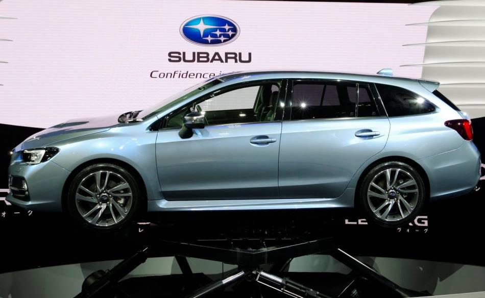 фото концепта Subaru Levorg 2013 сбоку