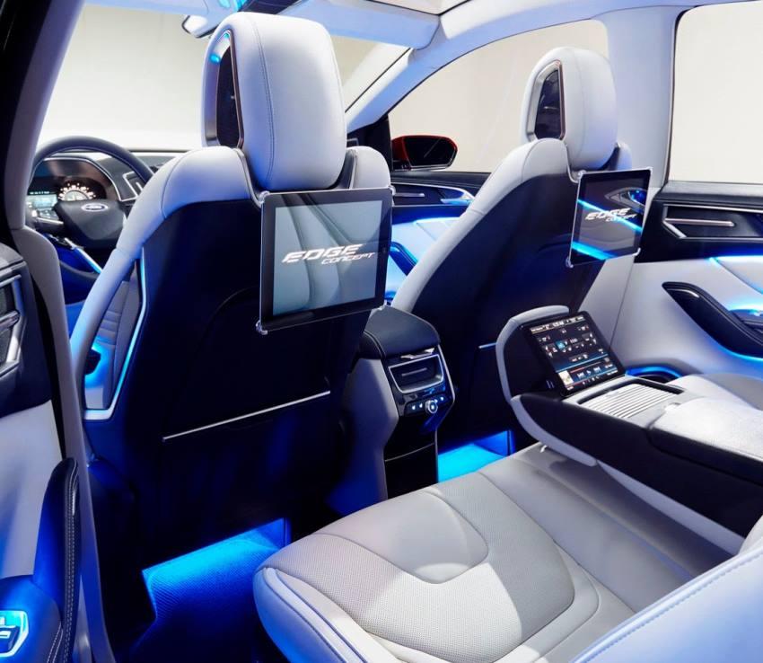 интерьер Ford Edge 2014