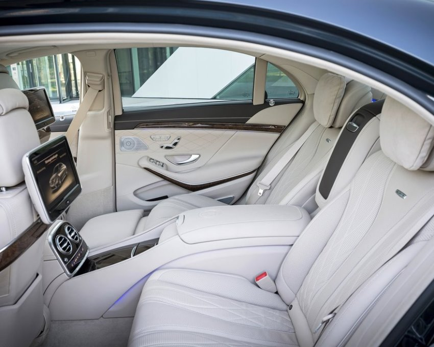 интерьер Mercedes S65 AMG 2014 года