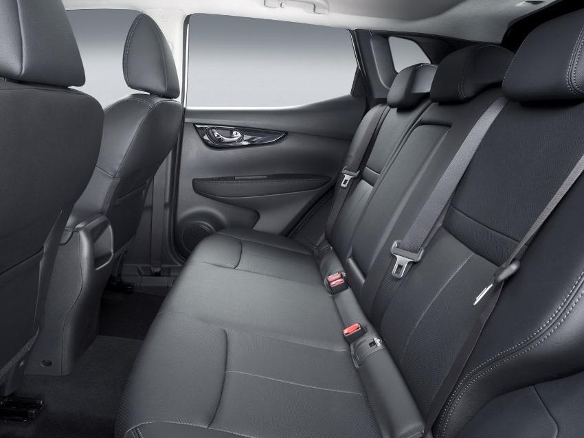 интерьер Nissan Qashqai 2 поколения