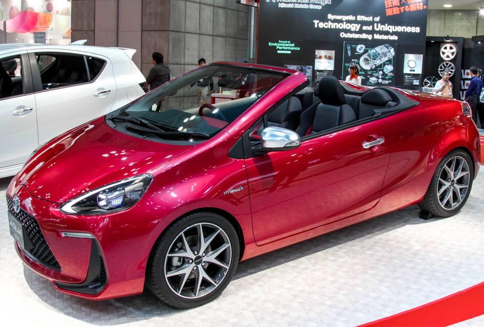 кабриолет Toyota Aqua Air Concept 2014
