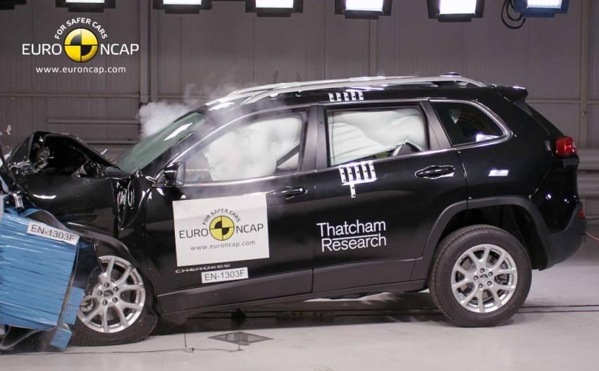 краш-тест Jeep Cherokee 2014