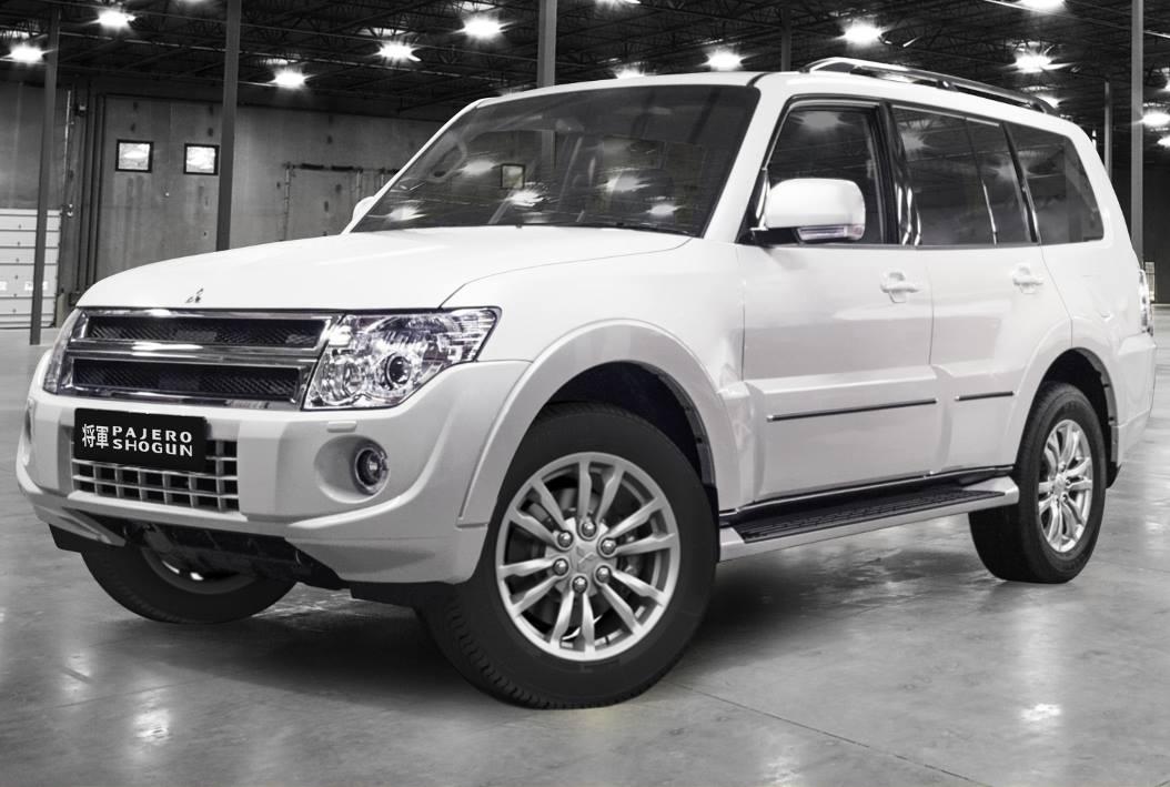 новый Mitsubishi Pajero Shogun в России