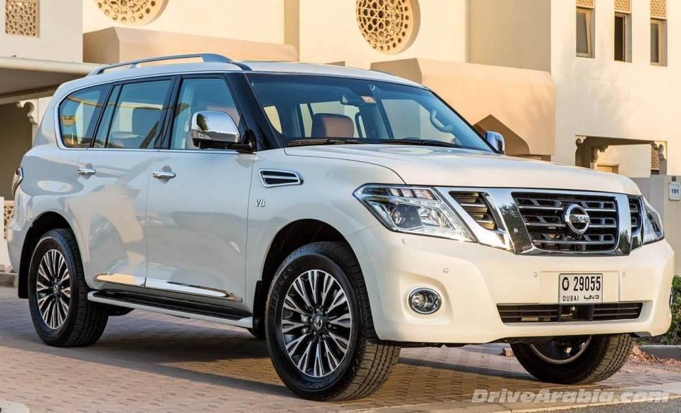новый Nissan Patrol 2014
