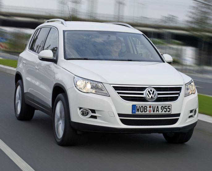 В России отзывают Volkswagen Tiguan 2008-2011