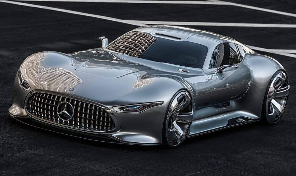 прототип Mercedes Vision Gran Turismo 2013