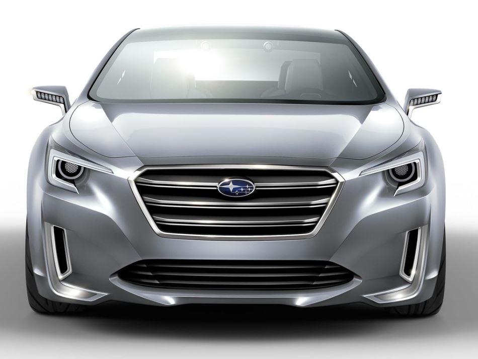 прототип Subaru Legacy 2013