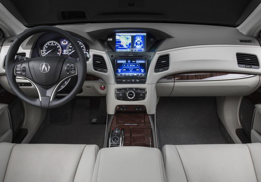 салон Acura RLX Sport Hybrid SH-AWD 2014