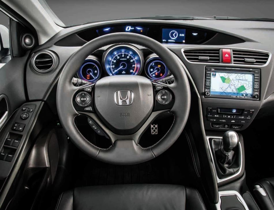 салон Honda Civic 2014 Хэтчбек