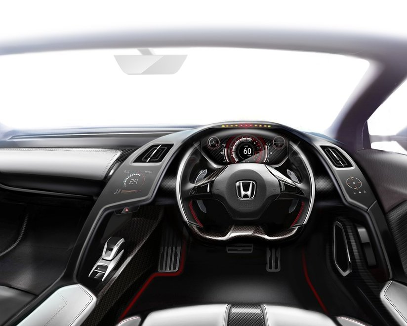 салон Honda S660 Concept 2013
