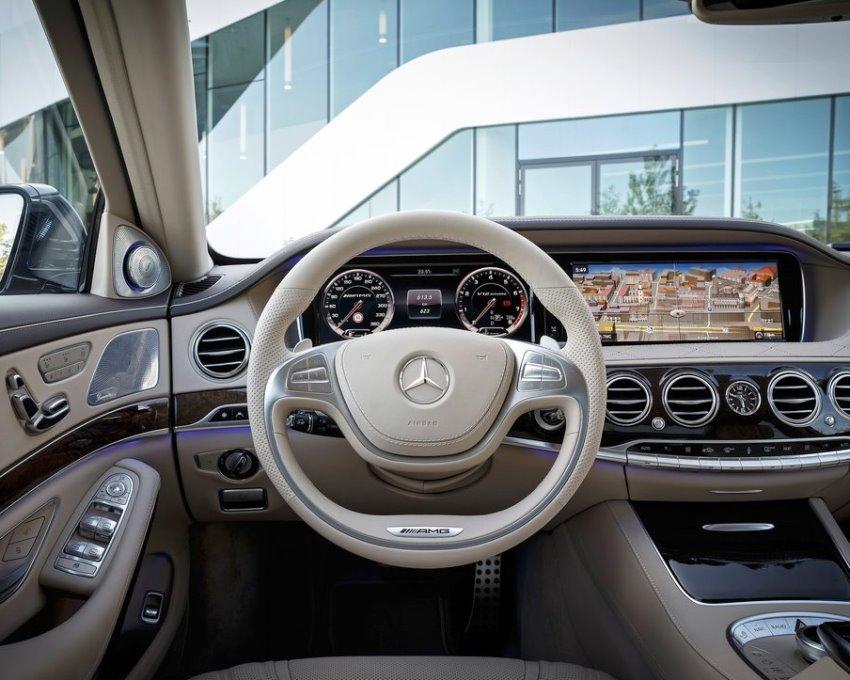 салон Mercedes S65 AMG 2014