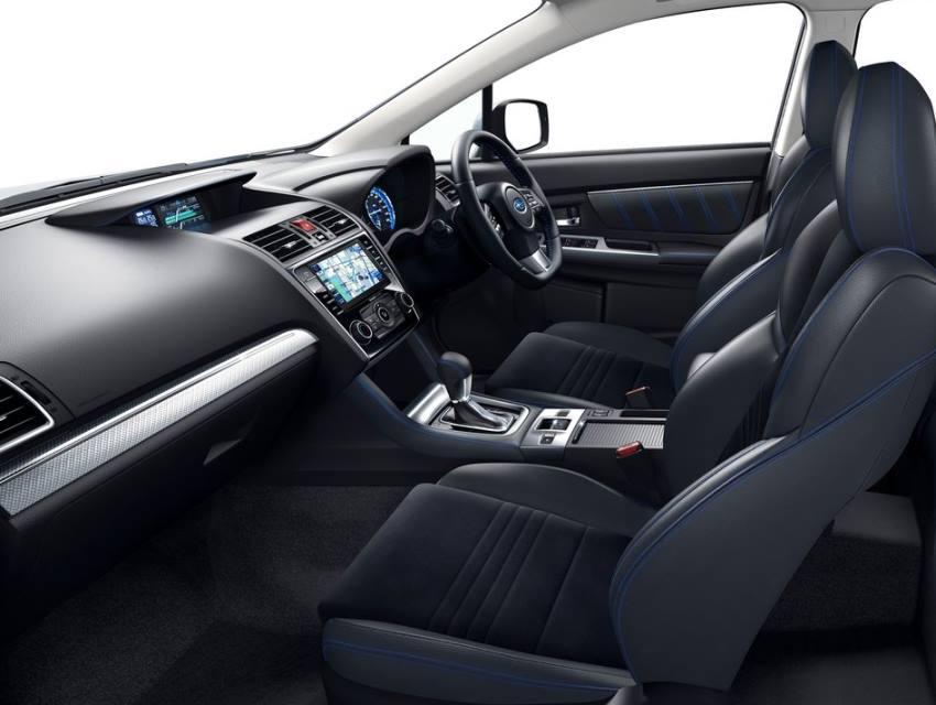 салон Subaru Levorg