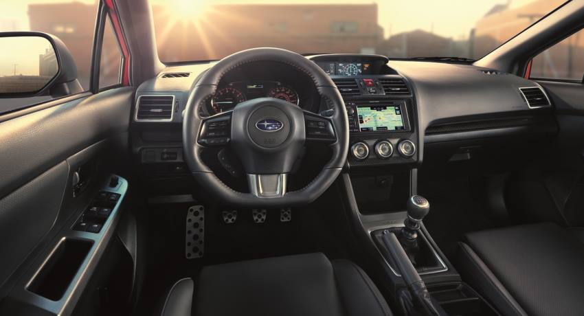 салон Subaru WRX 2014