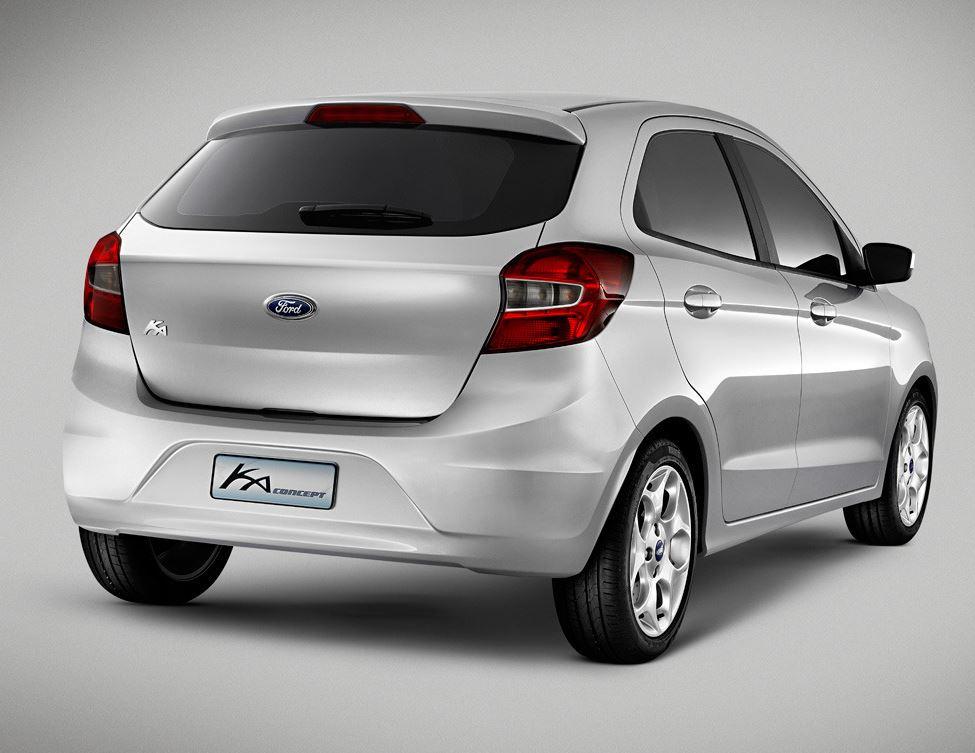 задние фонари нового Ford Ka 2013