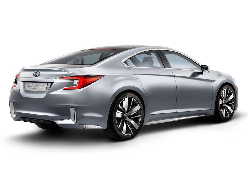 задняя часть Subaru Legacy Concept 2013