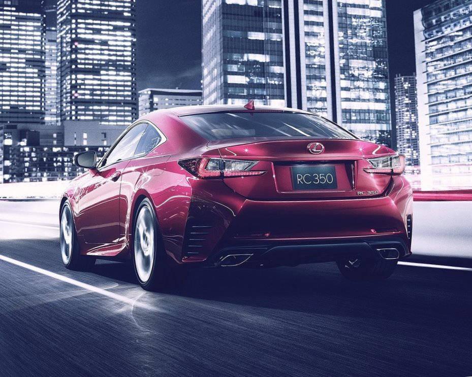 задняя часть кузова Lexus RC