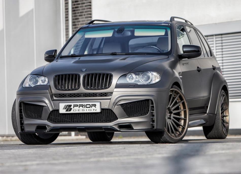 Фото тюнинг BMW X5 (E70) от Prior Design