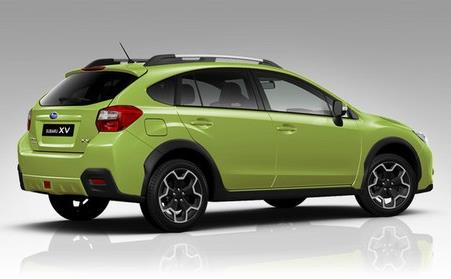 Subaru XV 2014 Plazma Green Pearl