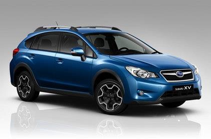 Subaru XV 2014 Quartz Blue Pearl