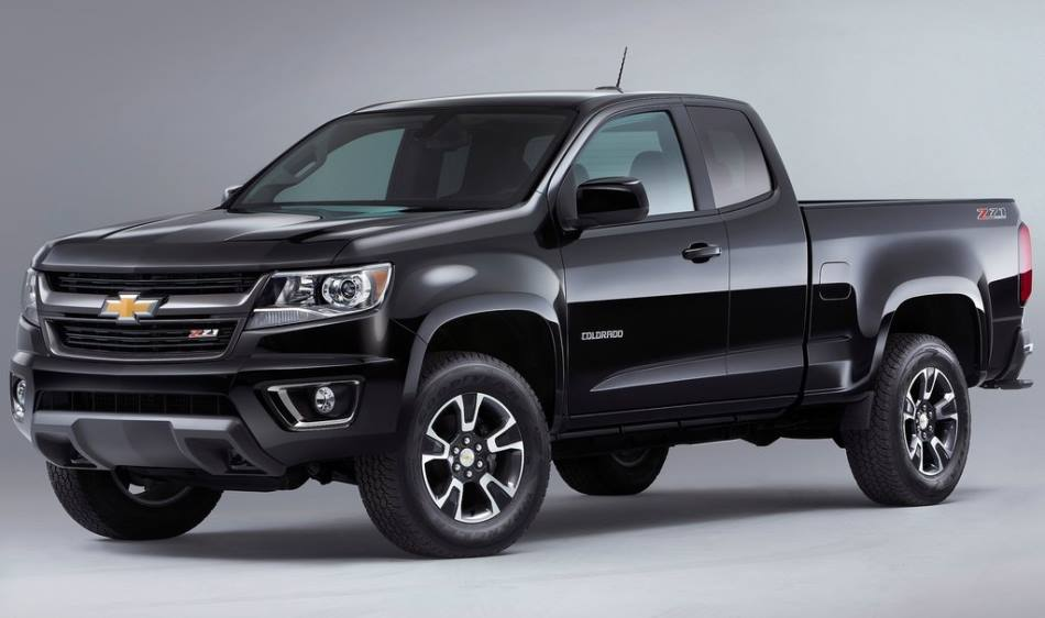 бампер и фары Chevrolet Colorado 2015 года