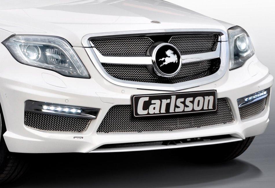 бампер и фары Mercedes GLK 2013 от Carlsson