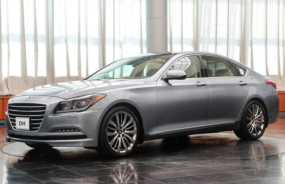 диски Hyundai Genesis 2015 года
