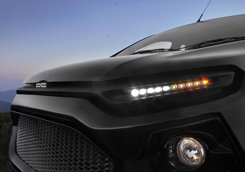 фары и капот Форд EcoSport от DC Design