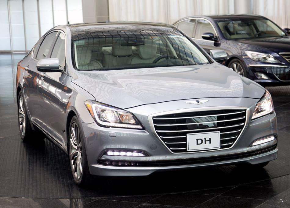 фото Hyundai Genesis 2015