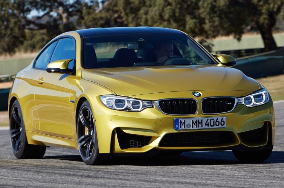 фото купе BMW M4 2015