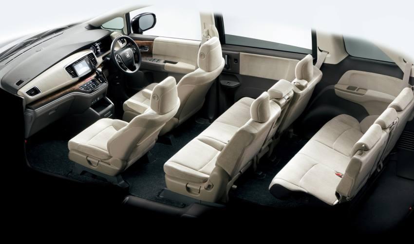 интерьер Honda Odyssey 2015