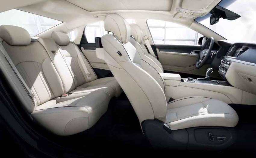 интерьер Hyundai Genesis 2015