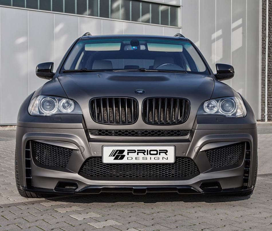 капот, бампер, фары BMW X5 (E70) от Prior Design