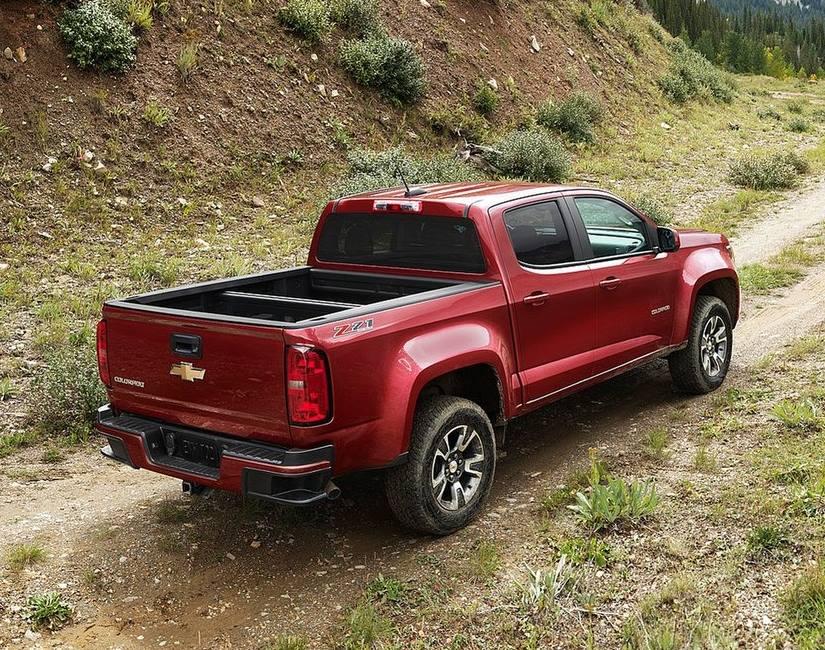 кузов нового Chevrolet Colorado 2015