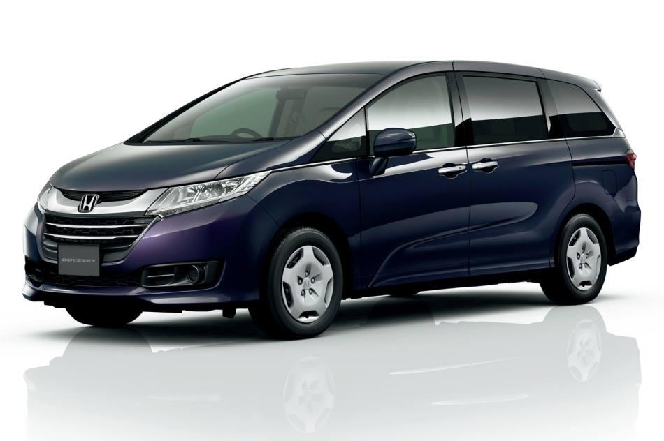 новый Honda Odyssey 2015