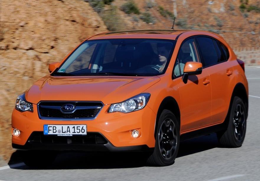 новый Subaru XV 2014 года