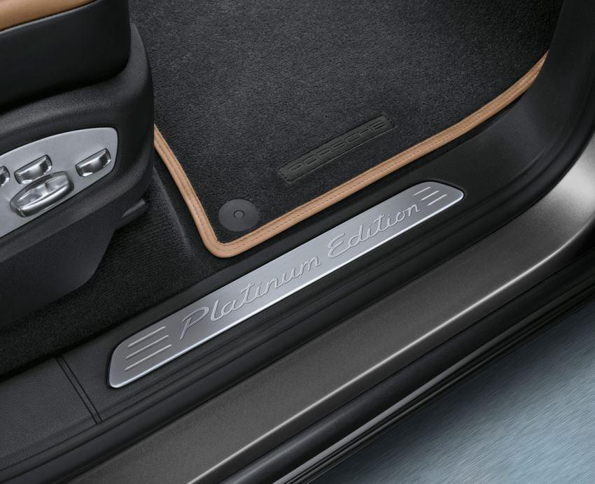 пороги Porsche Cayenne Platinum Edition 2013