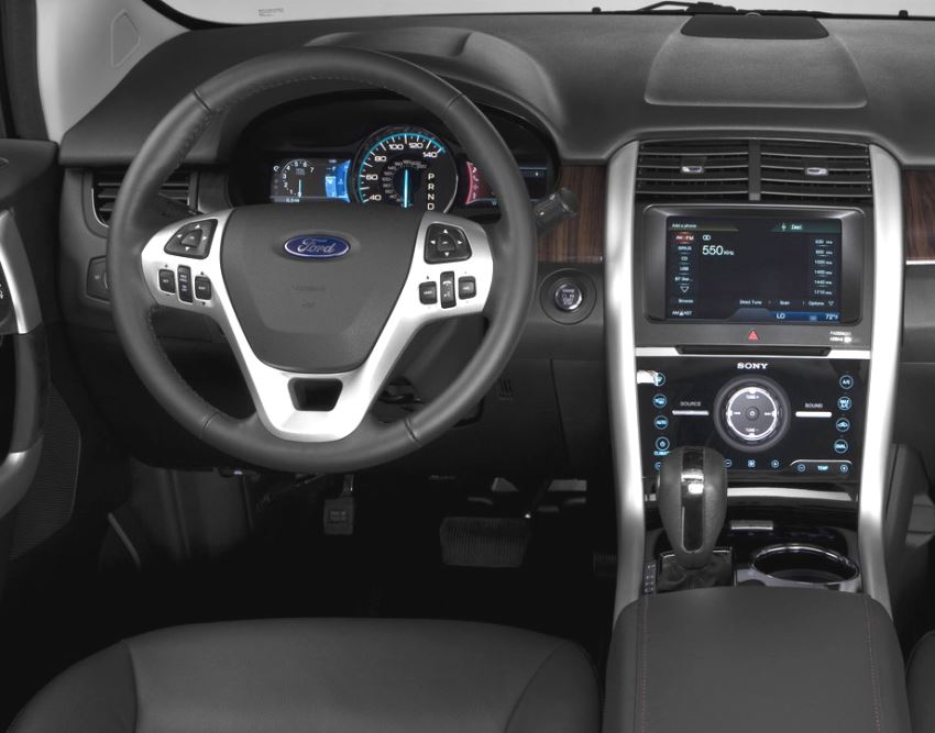 салон Ford Edge 2014
