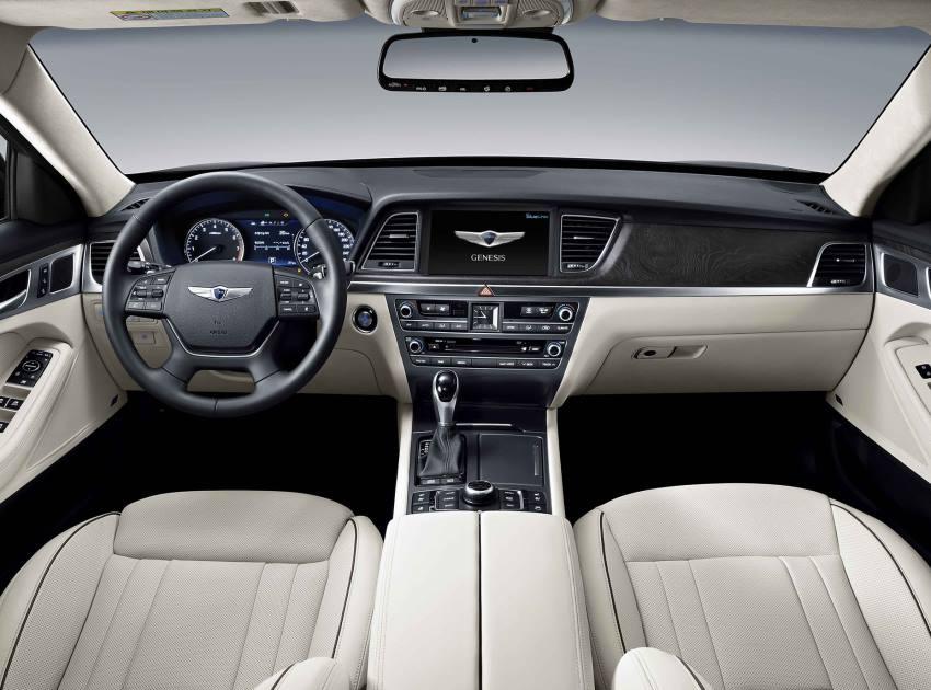 салон Hyundai Genesis 2015