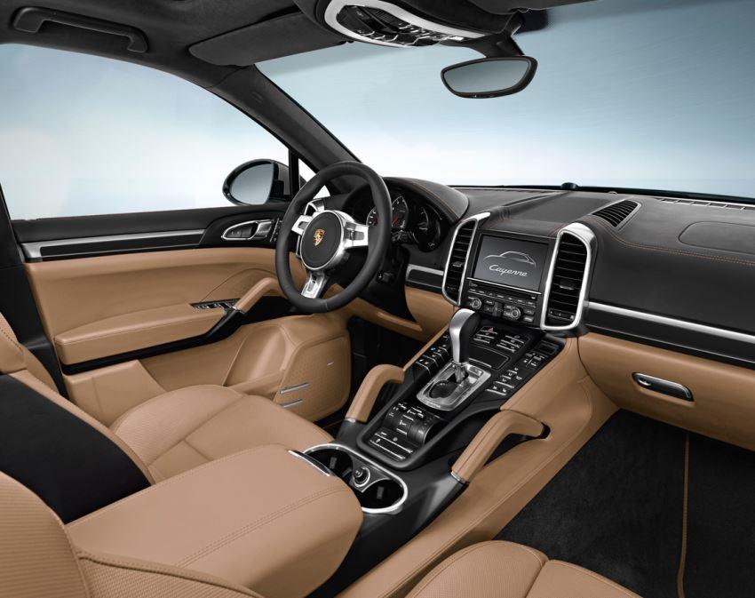 салон Porsche Cayenne Platinum Edition 2013