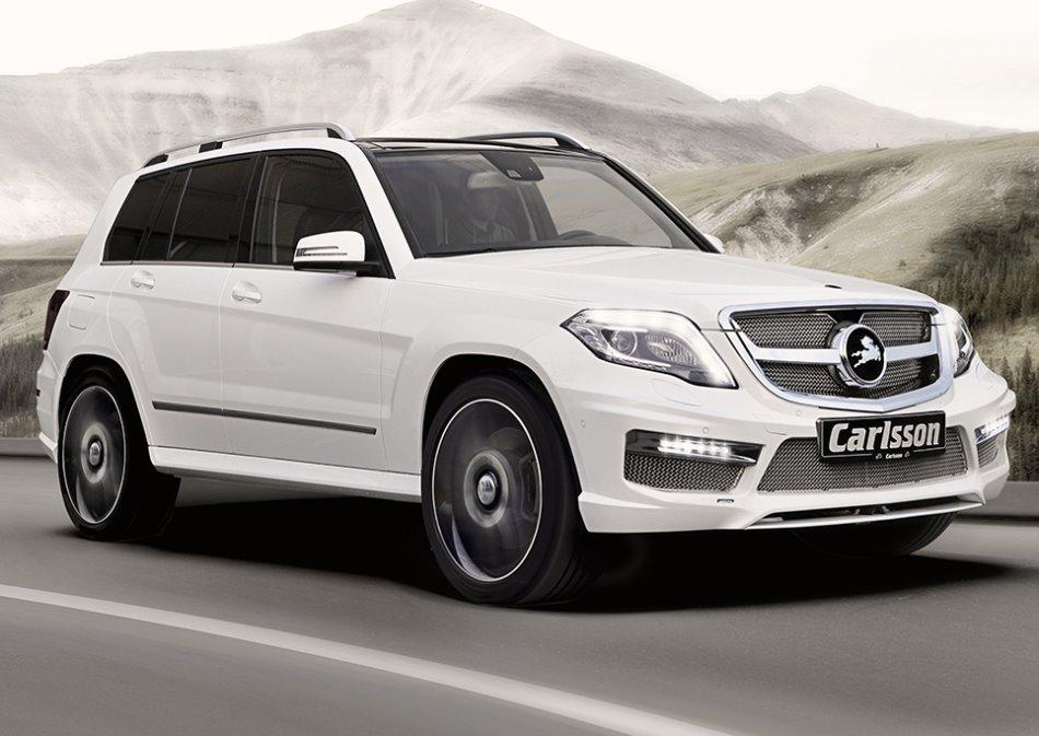 тюнинг Mercedes GLK 2013 от Carlsson