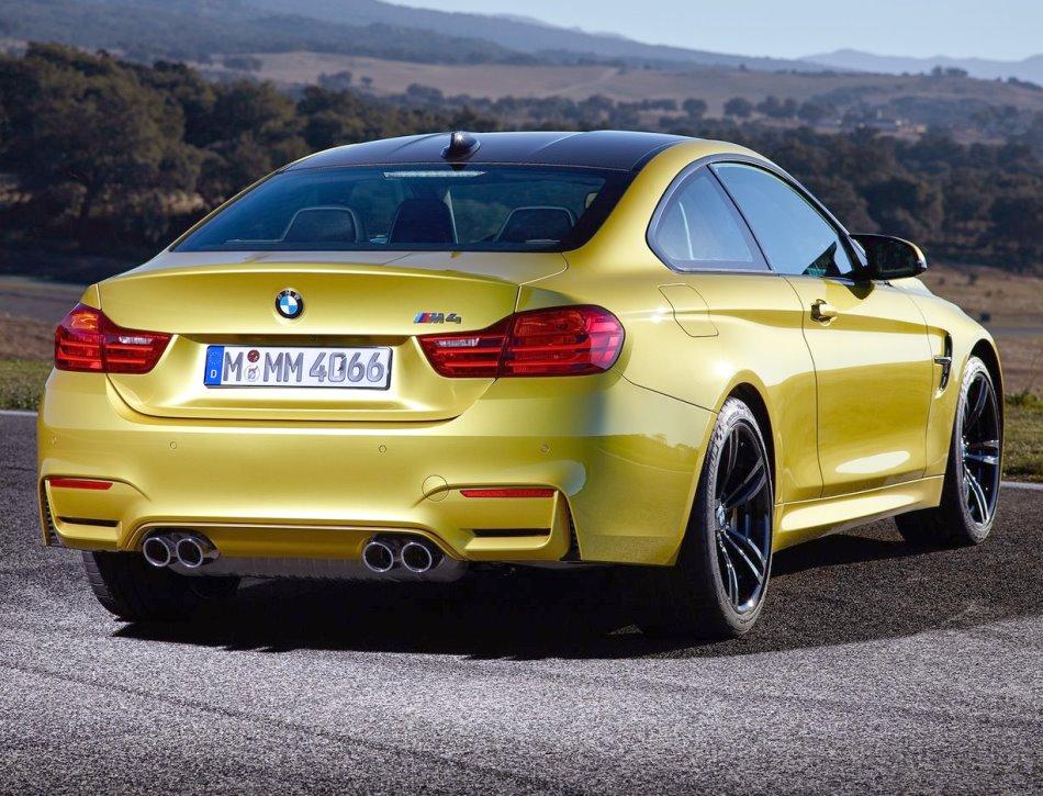 задние фонари BMW M4 Купе 2015 года