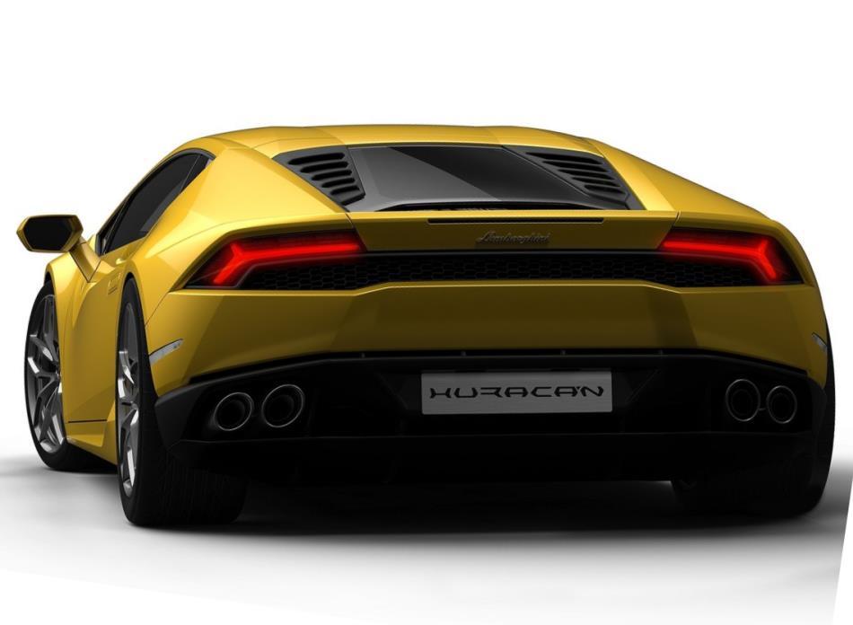 задние фонари Lamborghini Huracan LP610-4 2015