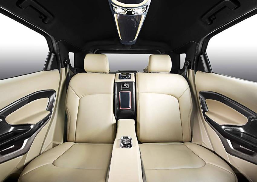 задние сидения Форд EcoSport от DC Design