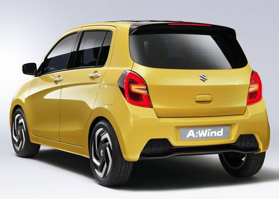 задняя часть Suzuki A:Wind 2014