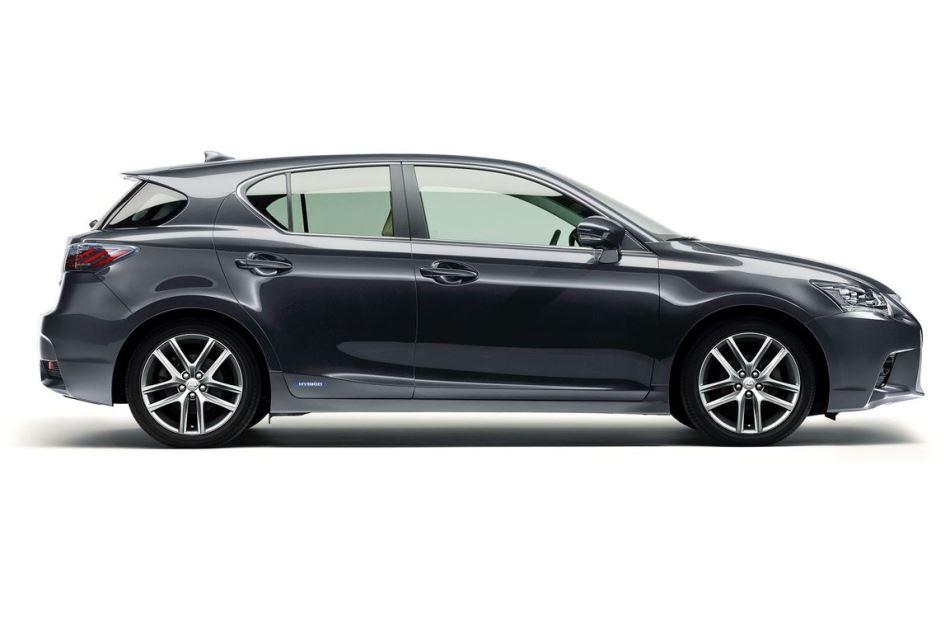 Lexus CT 200h 2014 сбоку