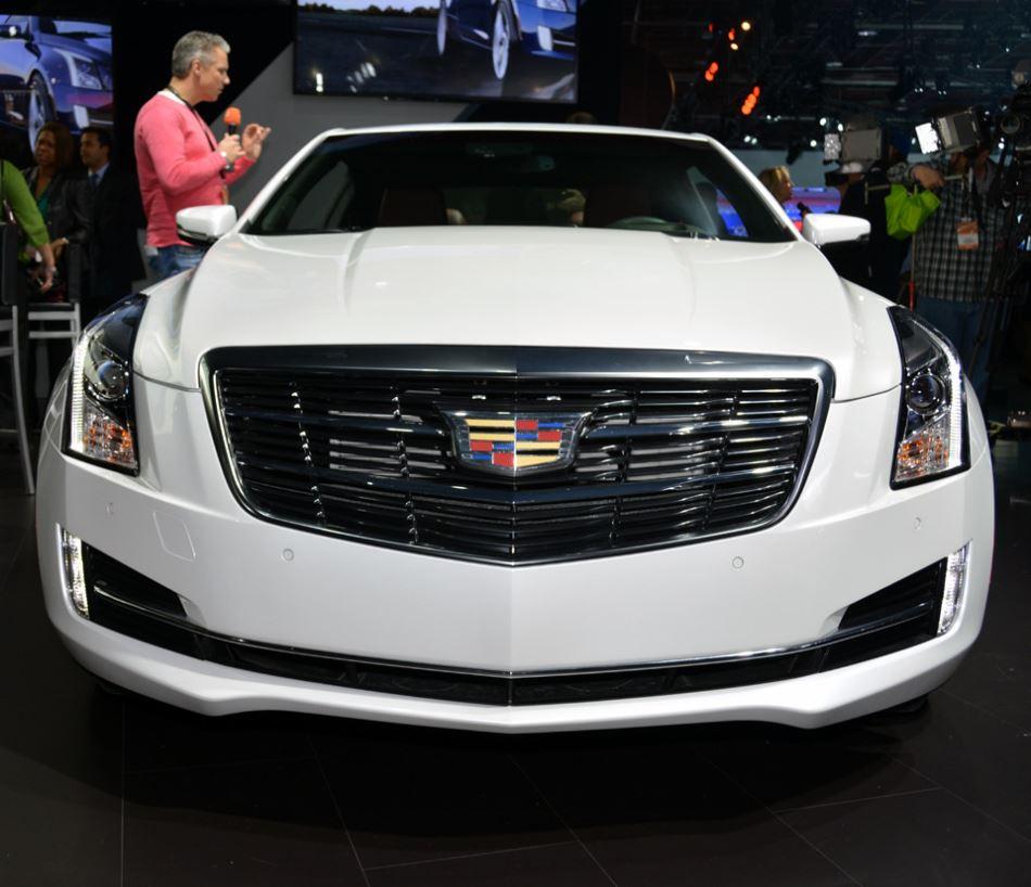 фары и бампер Cadillac ATS Coupe 2015